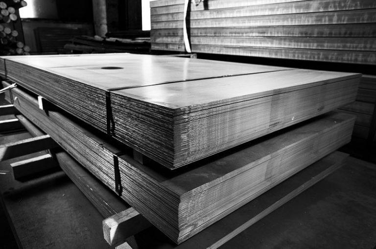Materia prima Lastre acciaio